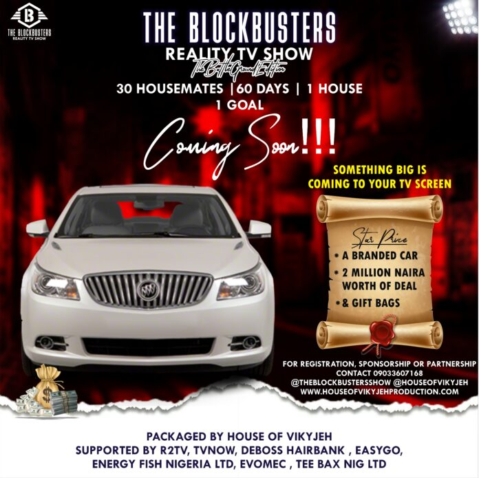 TV Show: The Blockbusters Reality TV Show