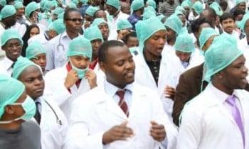 Nigerian govt stops salaries of striking doctors